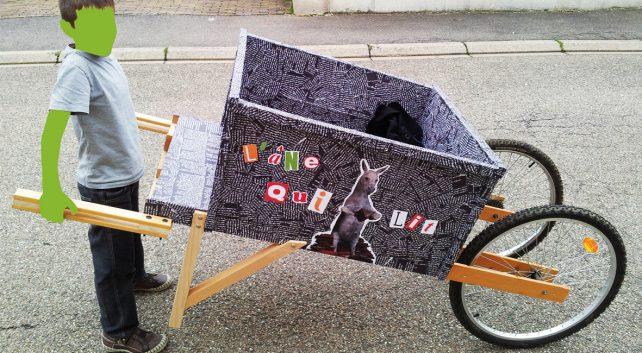 Transformer un vélo en brouette